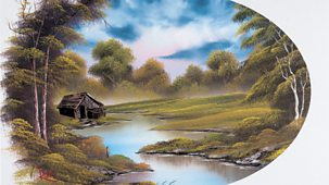 The Joy Of Painting - Series 2: 21. Lakeside Cabin