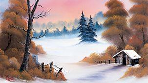 The Joy Of Painting - Series 2: 25. Winter Hideaway