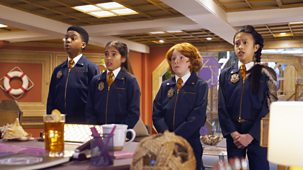 Odd Squad - Series 3: 13. Odd Squad In The Shadows, Part 1