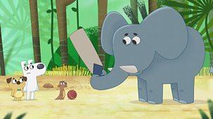 Dog Loves Books - Series 1: 30. Dog Loves Elephants