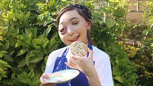 Nikki Lilly Bakes - Series 1: 9. Rainbow Funfetti Cookies