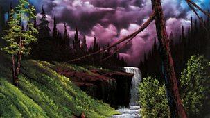 The Joy Of Painting - Series 3: 10. Black Waterfall