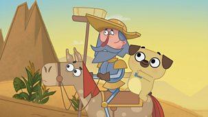 Dog Loves Books - Series 1: 38. Dog Loves Don Quixote?