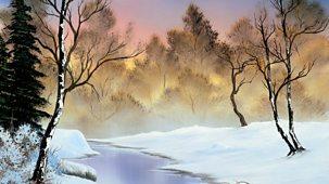The Joy Of Painting - Series 3: 35. Winter Stillness