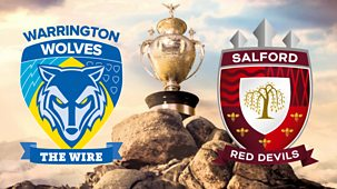 Rugby League: Challenge Cup - 2020: Semi-final: Salford Red Devils V Warrington Wolves