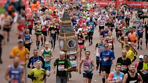 London Marathon - 2020: Highlights