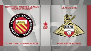 Fa Cup - 2020/21: 2. First Round: Fc United Of Manchester V Doncaster Rovers