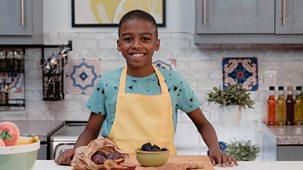 What's Cooking Omari? - Series 1: 2. Omari's Yum Plum Blackberry Crumble