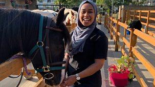 Celebrity Supply Teacher - Series 2: 15. Khadijah Mellah - Equestrian Studies