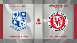 Fa Cup - 2020/21: 6. Second Round: Tranmere Rovers V Brackley Town