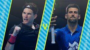 Tennis: World Tour Finals - 2020: Semi-final
