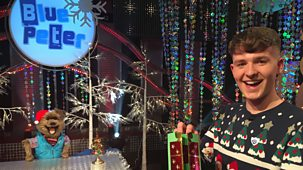 Blue Peter - Christmas Cards And Hacker's Quiz!