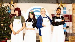 Celebrity Masterchef - Christmas Cook-off: Episode 1