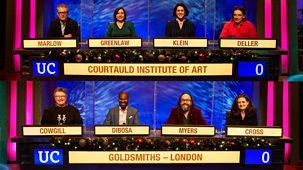University Challenge - Christmas 2020: 3. Courtauld V Goldsmiths
