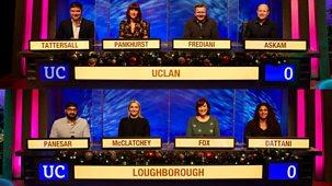 University Challenge - Christmas 2020: 5. Uclan V Loughborough