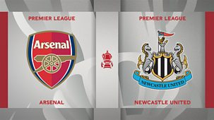 Fa Cup - 2020/21: Third Round: Arsenal V Newcastle United