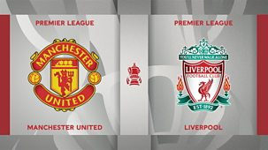 Fa Cup - 2020/21: Fourth Round: Manchester United V Liverpool