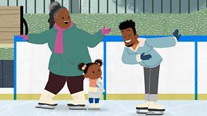 Jojo & Gran Gran - Winter: 1. It's Time To Ice-skate