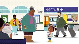Jojo & Gran Gran - Winter: 9. It's Time To Catch The Train