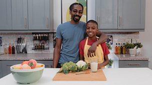 What's Cooking Omari? - Series 1: 9. Omari's Chunky Cauliflower Nuggets