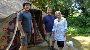 My Unique B&b - Series 1: 7. Becky And David's Yurt