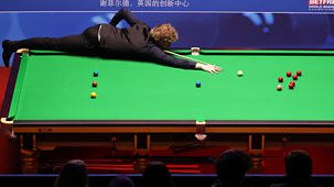 Snooker: World Championship - 2021: Day 2: Evening Session