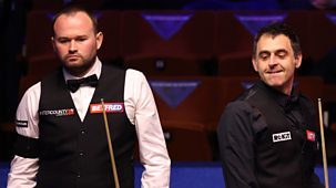 Snooker: World Championship - 2021: Day 1: Evening Session