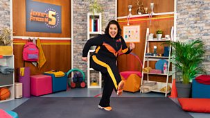 Jennie's Fitness In 5 - Series 1: 1. Aerobics