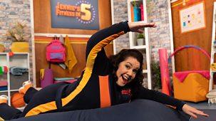 Jennie's Fitness In 5 - Series 1: 2. Swimming