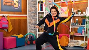 Jennie's Fitness In 5 - Series 1: 3. Ribbon Dancing