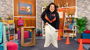 Jennie's Fitness In 5 - Series 1: 4. Obstacle Course