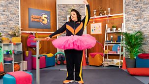 Jennie's Fitness In 5 - Series 1: 8. Ballet