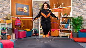 Jennie's Fitness In 5 - Series 1: 10. Skipping
