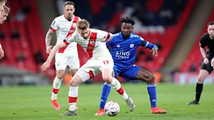 Fa Cup - 2020/21: Semi-final Highlights: Leicester V Southampton