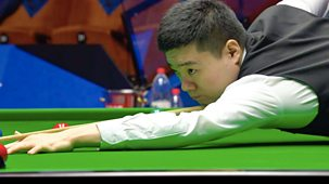 Snooker: World Championship - 2021: Day 3: Morning Session