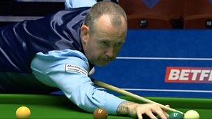 Snooker: World Championship - 2021: Day 5: Morning Session