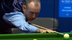 Snooker: World Championship - 2021: Day 5: Evening Session