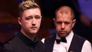 Snooker: World Championship - 2021: Day 7: Morning Session