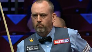 Snooker: World Championship - 2021: Day 8: Evening Session