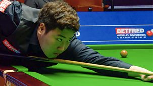 Snooker: World Championship - 2021: Day 10: Evening Session