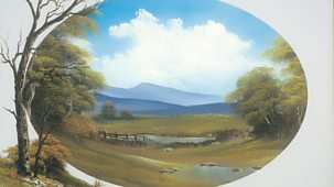 The Joy Of Painting - Series 4: 14. Countryside Oval