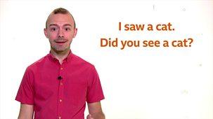 Bitesize: 5-7 Year Olds - Week 6: 1. Teacher Talks: English - Question Marks