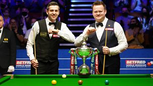 Snooker: World Championship - 2021: Day 16: Evening Session