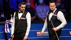 Snooker: World Championship - 2021: Day 17: Evening Session