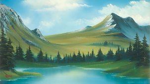 The Joy Of Painting - Series 4: 23. Mountain Ridge Lake