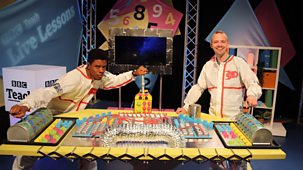 Cbbc Live Lessons - Series 2: 14. Ks1/first Level - Space