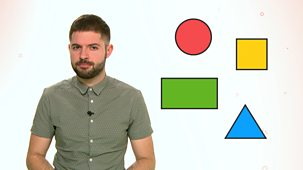 Bitesize: 5-7 Year Olds - Week 6: 14. Teacher Talks: Maths  Shapes With Four Sides
