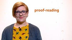 Bitesize: 7-9 Year Olds - Week 6: 6. Teacher Talks: English - Proof-reading