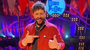 Blue Peter - David Walliams And A Eurovision Party!