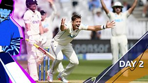 Cricket: Today At The Test - England V New Zealand 2021: 2. First Test: Day Two Highlights